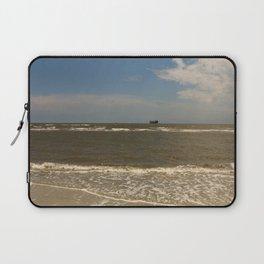 St Simons Island Beach Laptop Sleeve