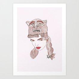 Animalia 1 Art Print
