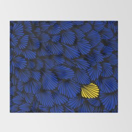 Happy abstract: Seaworld Nr:01 Throw Blanket