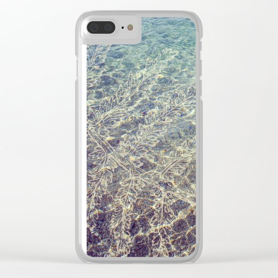 seaplant Clear iPhone Case