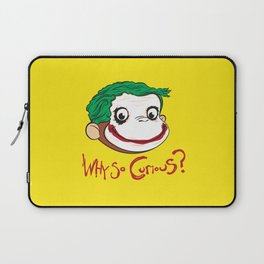 Why So Curious? Laptop Sleeve
