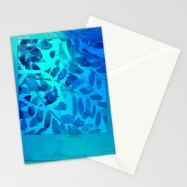 Golden Seaweed #society6 #spring #bluedecor Stationery Cards