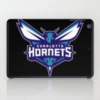 nba iPad Cases featuring NBA - Hornets by Katieb1013