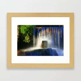 Crystal Stone Framed Art Print