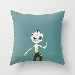 Monkey Buisness Throw Pillow