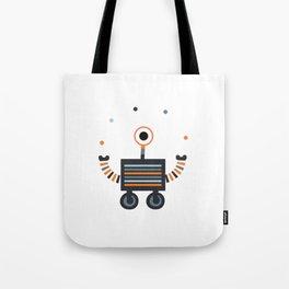 juggler robot Tote Bag