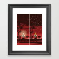 Know-it-all? Framed Art Print