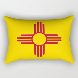 State flag of New Mexico - Authentic version Rectangular Pillow