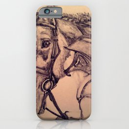 Cassidy & Portia iPhone Case