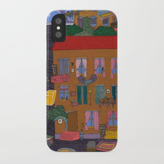 Inside Out Apartment iPhone Case