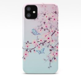 Cherry Blossom Landscape iPhone Case