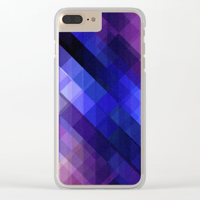 Pattern 6 Clear iPhone Case