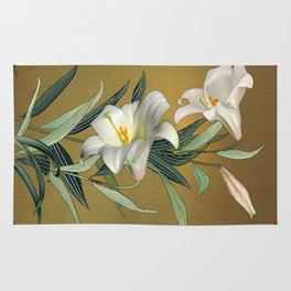 Trumpet Lily Rug