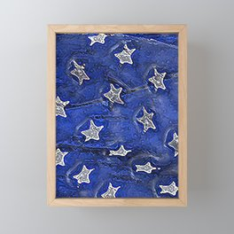 Stars and No Stripes Framed Mini Art Print