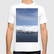 Whitter, Alaska Mens Fitted Tee White MEDIUM