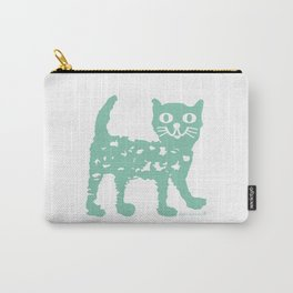 Mint cat drawing, cat drawing Carry-All Pouch