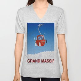 Grand Massif Unisex V-Neck