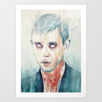 glass Art Prints featuring Glass by Tillith