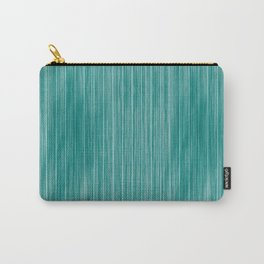 Aqua Weathered Whitewash Wooden Beach House Carry-All Pouch