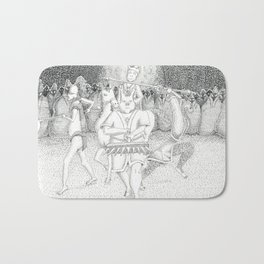 Monkey-King & his Crew Bath Mat