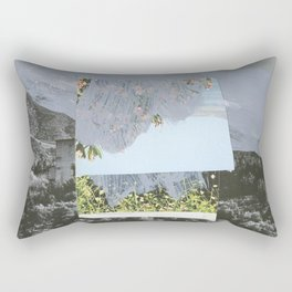 Untitled / Paper collage, Acrylic & Graphite / 2014 Rectangular Pillow