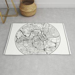 Nashville Map Universe Rug