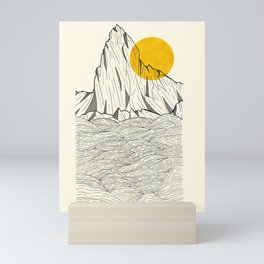 Sun Cliffs Mini Art Print