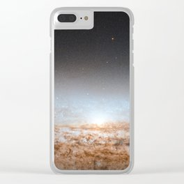 UFO Galaxy (NGC 2683) Clear iPhone Case