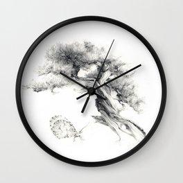 Penjing & Psyche Wall Clock