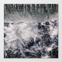 Canvas Prints featuring Waterfall by VanessaGF