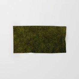 olive green velvet   texture Hand & Bath Towel