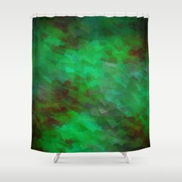 Greener Pattern 10 Shower Curtain