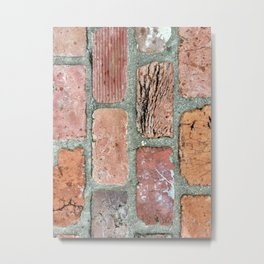 Alabama town brick Metal Print