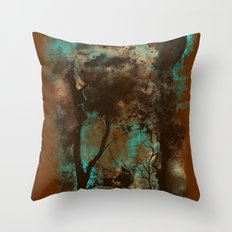 THE LOST FOREST Throw Pillow