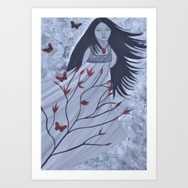The Wind of the Spirit by Saribelle Rodriguez Art Print