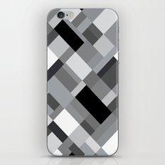 New Map Grey 45 iPhone Skin