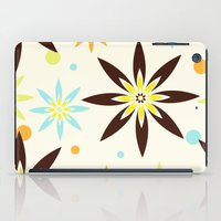 70s iPad Cases featuring 70s flowers by Keyweegirlie