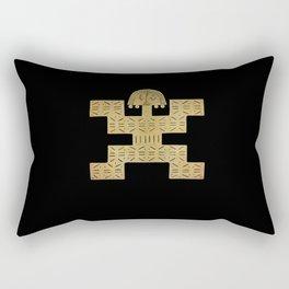 Pectoral Pre-Columbian Gold Piece Rectangular Pillow