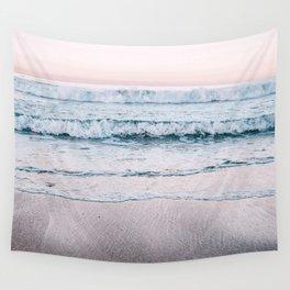 Pink Sea II Wall Tapestry