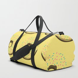 Yellow donuts Duffle Bag