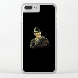 Freddy Krueger - Elm Street Clear iPhone Case