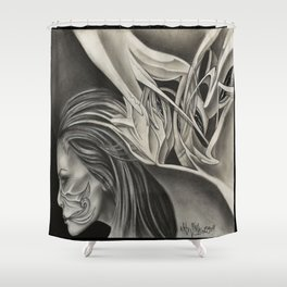 Aoide Shower Curtain