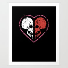 MADly in love with you  (Mutual Assured Destruction) Art Print