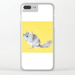Chin Chin Clear iPhone Case