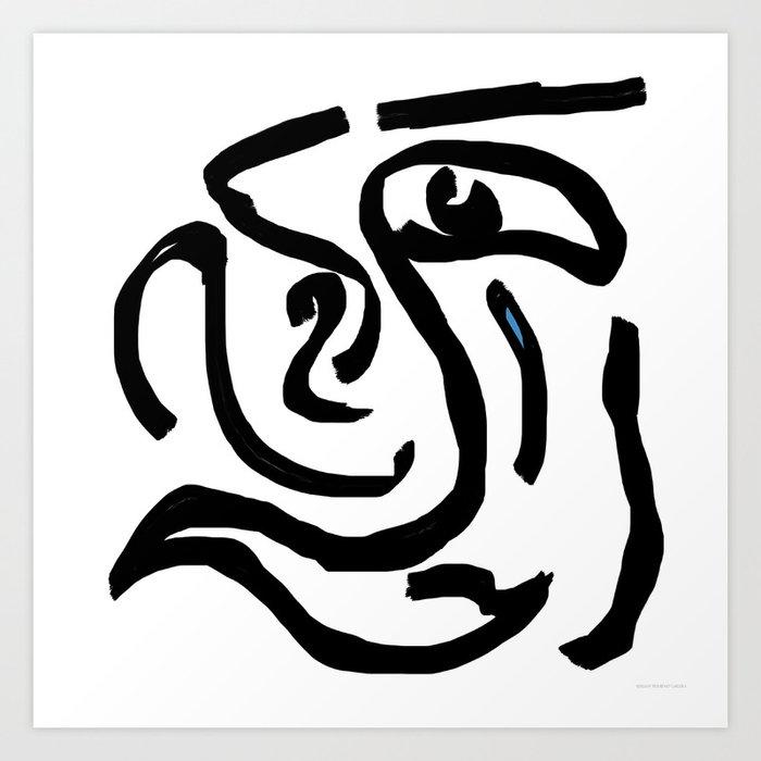 """""""Tear Boy"""" Art Print"""