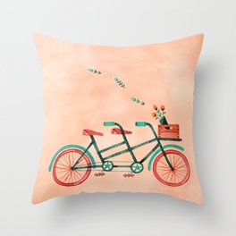 A Good Friend Throw Pillow