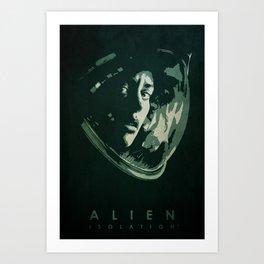 Alien: Isolation - Minimalist Poster Art Print