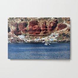 Santorini 23 Metal Print