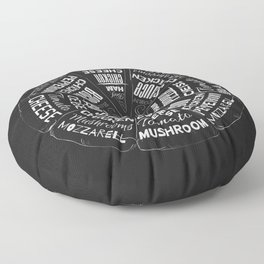 Choose a Slice Floor Pillow