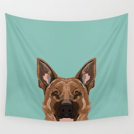 Skylar - German Shepherd gifts for dog people dog lover gifts german shepherd owners perfect gifts Wall Tapestry